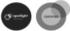 Spotlight and Certified logos